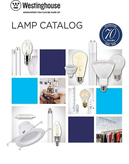 Couverture du Catalogue de lampes de Westinghouse Lighting
