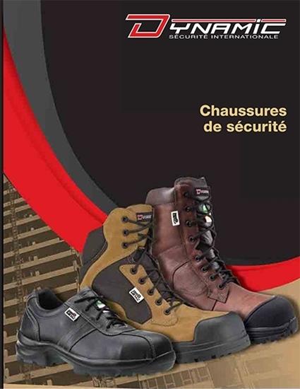 Catalogue de chaussures et bottes de Dynamic Sécurité International