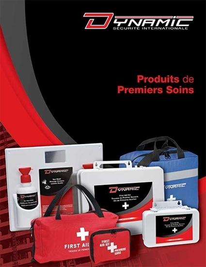 Catalogue de produits de premiers soins par Dynamic Sécurité International