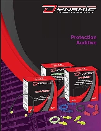 Catalogue de produits de protection auditive par Dynamic Sécurité International