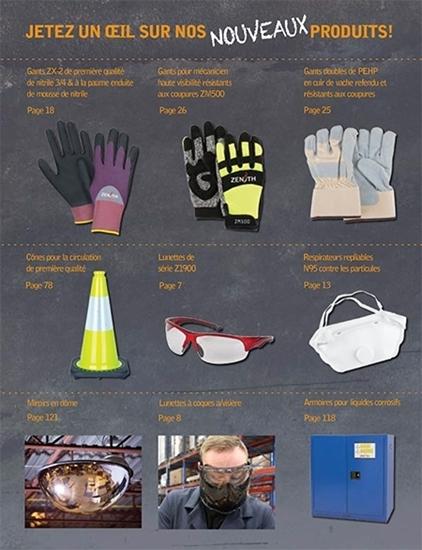 Catalogue de produits de sécurité Zenith
