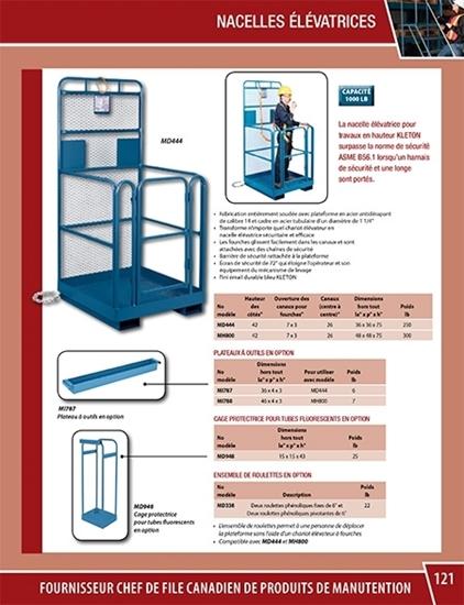 Catalogue de produits de manutention par Kleton